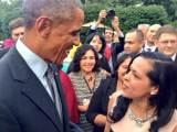 With President Barack Obama at Vice President Biden's residence, September 22, 2014