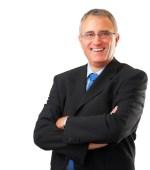 Portrait of a senior executive