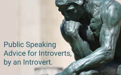 Why most public speaking advice doesn't seem to work for you