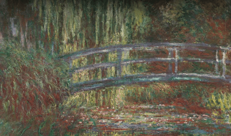 The Water Lily Pond, Claude Monet