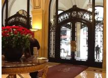 Palace Hotel in SF is my favorite place to bring visitors for a historic tour and lunch,