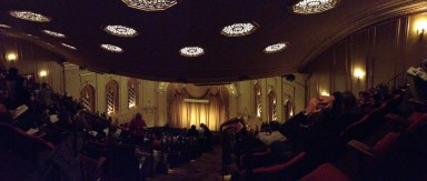 San Francisco Opera House: a panoramic view inside the Opera House. I watched many of my favorite operas here with family and friends.