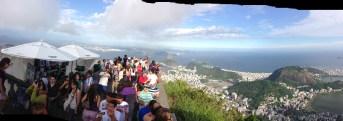 View of Rio de Janeiro, from the Corocovado Mountain