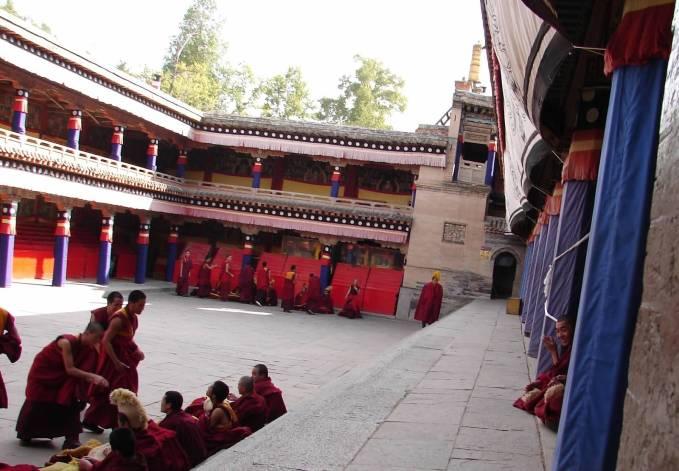 Inner Mongolia -monks debating