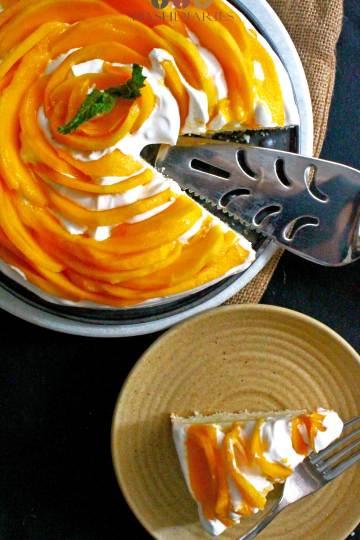 Easy Mango Cake Recipe Dessert