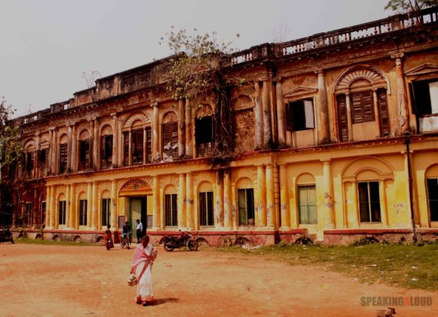 Serampore Rajbari Bhooter Bhobishyot shooting location