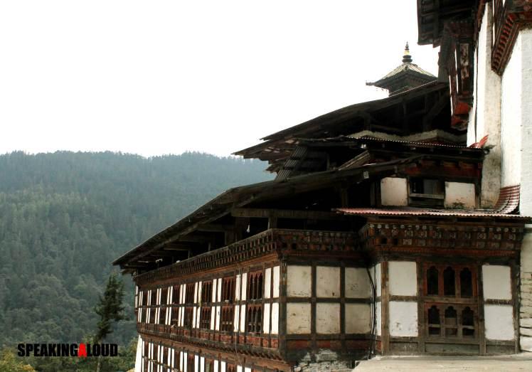 Jigme Dorji National Park Monastery