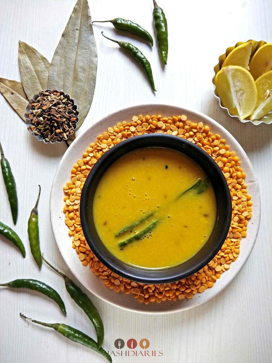 Arhar Dal | Bengali Split Pea Dal Recipe