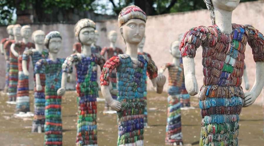 Chandigarh rock garden history