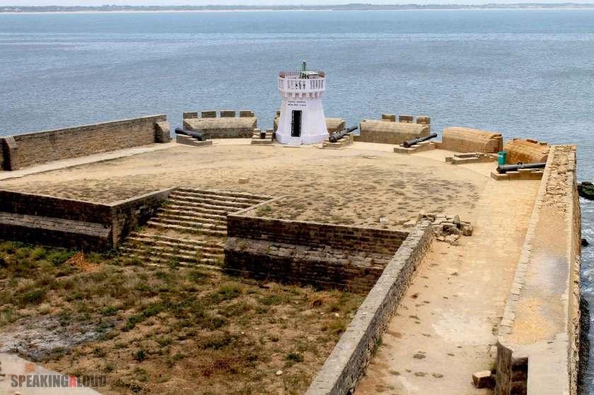 Diu Fort Arabian Sea