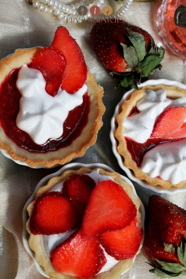 Mini Strawberry Tart Dessert Recipe