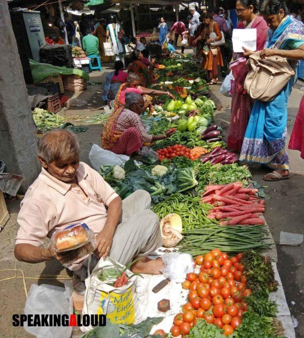Gariahat Market Gariahat bazar vegetables