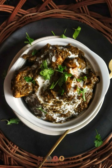 Palak Chicken Curry Recipe