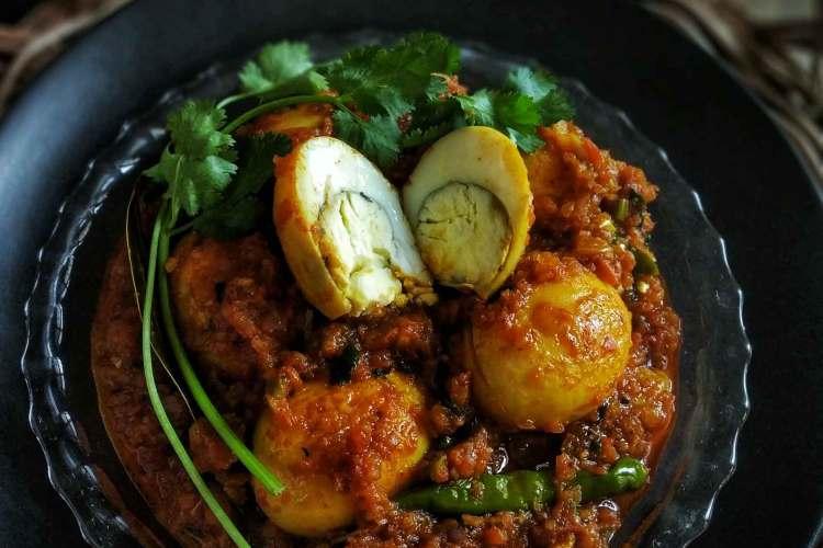 ডিম কষা | Egg Curry | Bengali Dim Kosha Recipe for a quick meal DIm Kosha Bengali Egg Curry Recipe