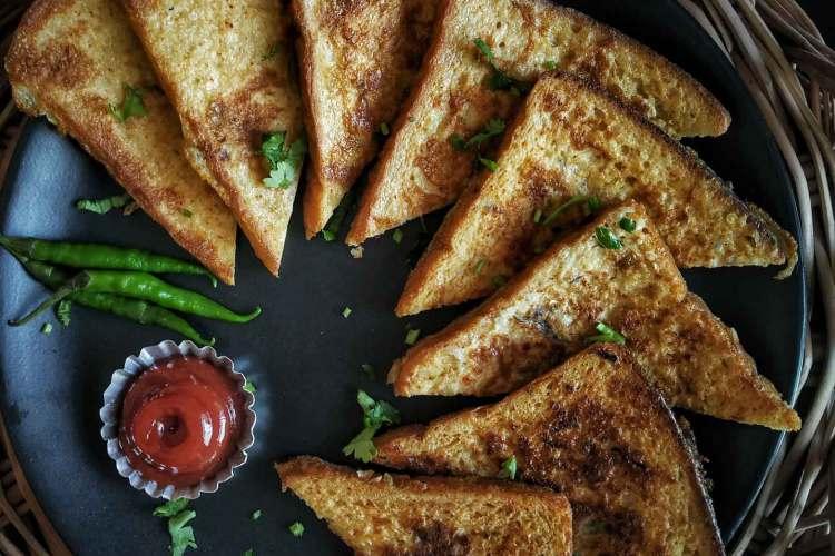 ডিম টোস্ট রেসিপি Dim Pauruti Egg Toast Recipe