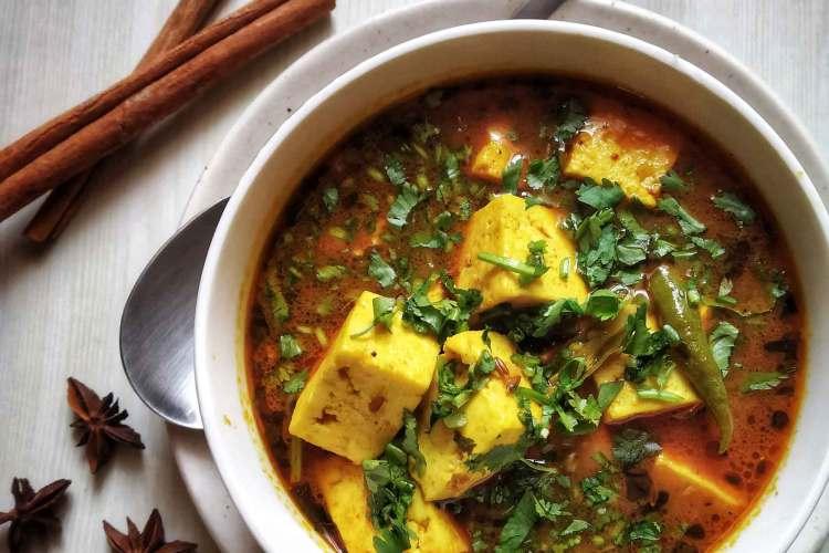 Vegetarian Quick Paneer Curry Recipe