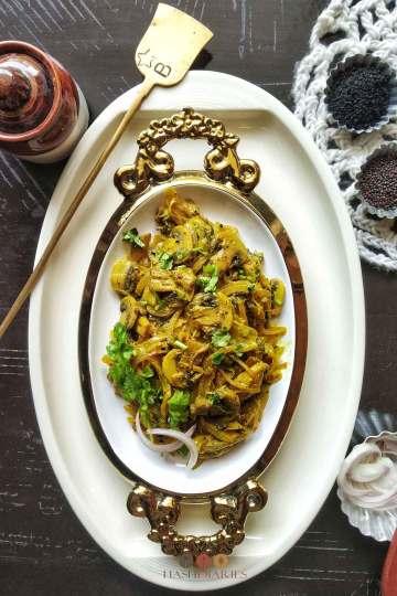 Easy Mushroom Recipes Mushroom Jhal Deva