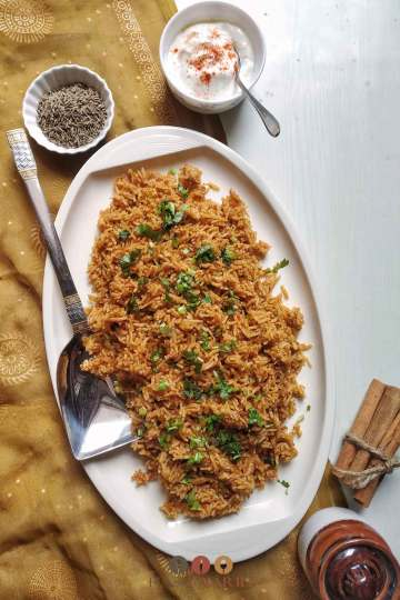 Tomato Rice Pulao Recipe