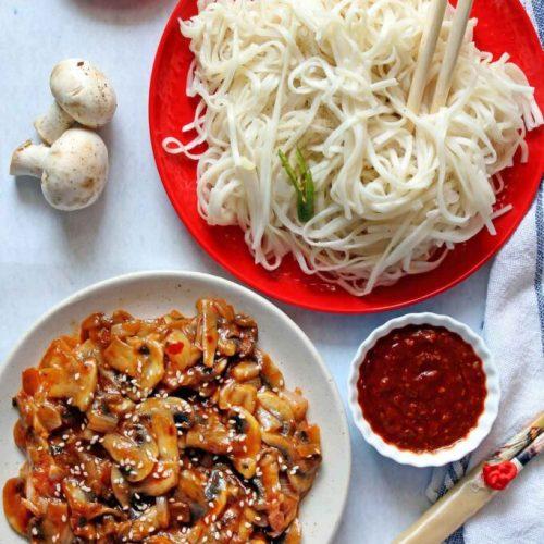 Schezwan Mushroom Recipes