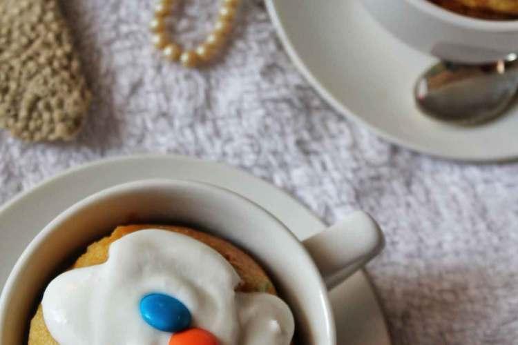 Easy Vanilla Mug Cake Recipe