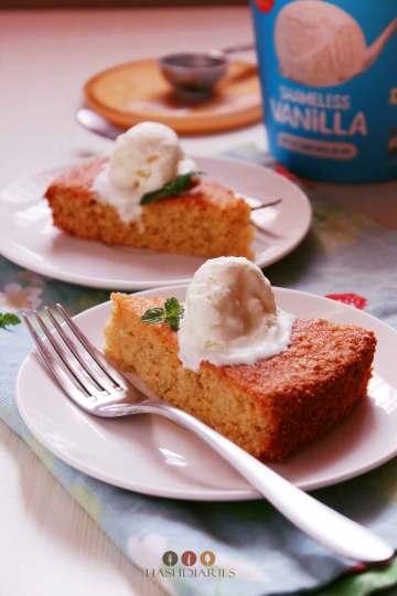 Mango Semolina Cake - Sooji ka Cake recipe