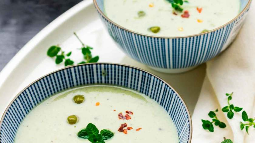 Mint and Peas Soup