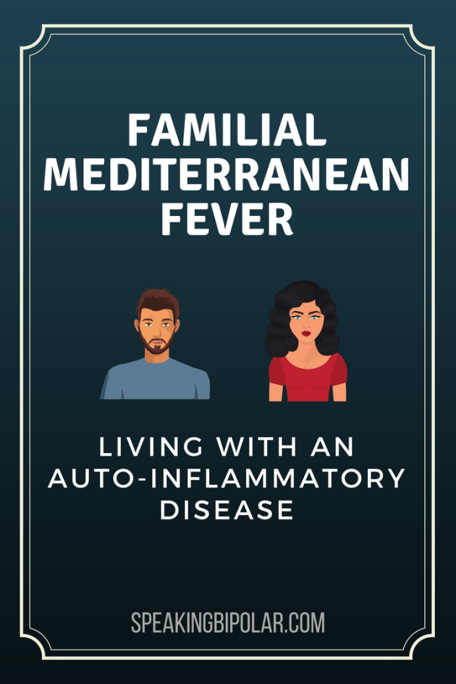 Familial Mediterranean Fever (FMF) is an auto-inflammatory disease that causes pain, especially in the abdomen. Post from a patient living with it.   #FMF #FamilialMediterraneanFever #PatientStory