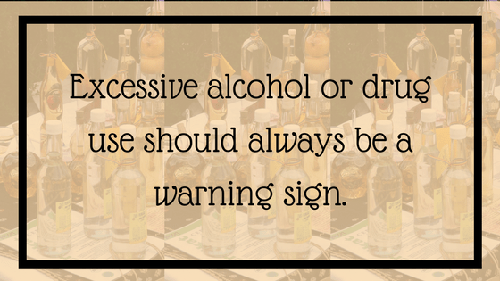 Quote: Excessive alcohol or drug use should always be a warning sign. From Post: 12 Signals That Point to Bipolar Disorder