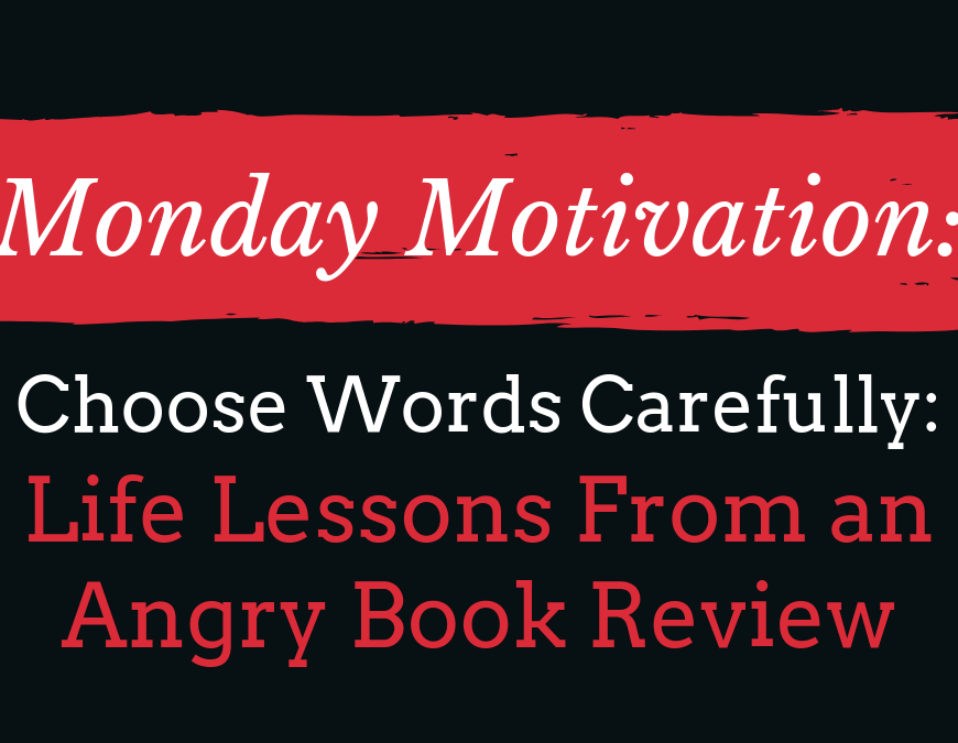For an author, one of the most upsetting things is to receive a negative book review. Read to learn a life lesson that was learned from a 1-star review. | #MondayMotivation #PersonalDevelopment #LivingWithIllness #SpeakingBipolar