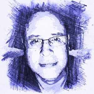 Drawing of Scott Ninneman