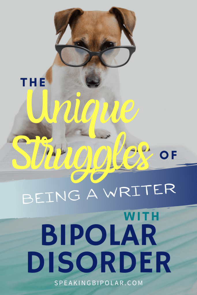 Having bipolar disorder makes everything an adventure. Being a writer is no different. Read the three phases of being a writer with bipolar disorder. | #bipolar #writer #mentalillness #mentalillnessawareness