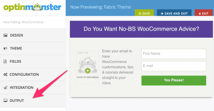 OptinMonster Customizer