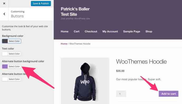 How to Change the Style of the Add to Cart Button in