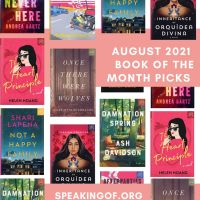 August 2021 Book of the Month