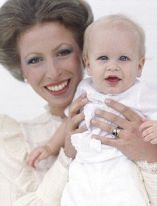 Princess Anne with son Peter