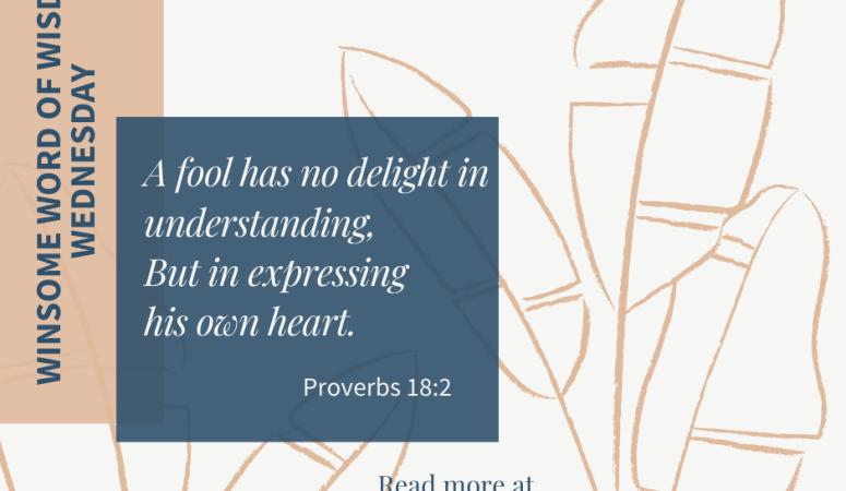 A Fool's Heart