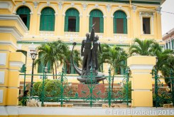 Communist statues.