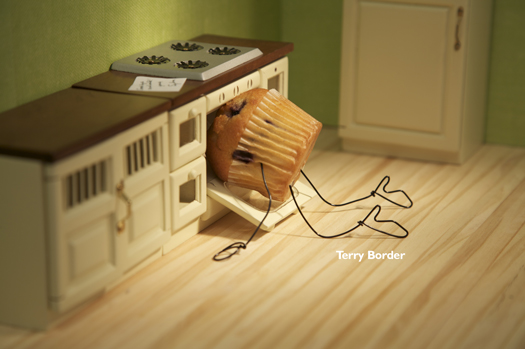 STILL LIFE: BENT OBJECTS ~ By:TERRY BORDER  (2/3)