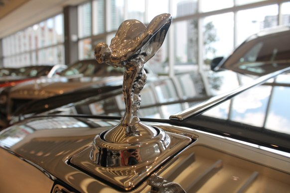 Classic emblem of the Rolls Royce is called the Spirit of Ecstasy.