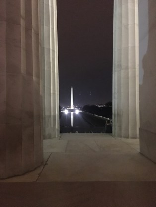 Washington Monument from Lincoln Memorial