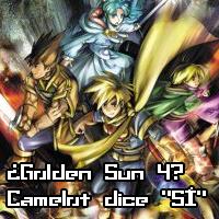¿Golden Sun 4? Camelot dice «SÍ»