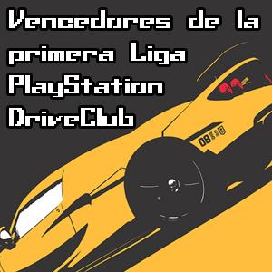 Vencedores de la primera Liga PlayStation DriveClub