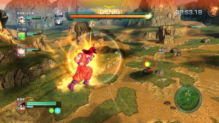 Vita_Dragon Ball Z Battle of Z