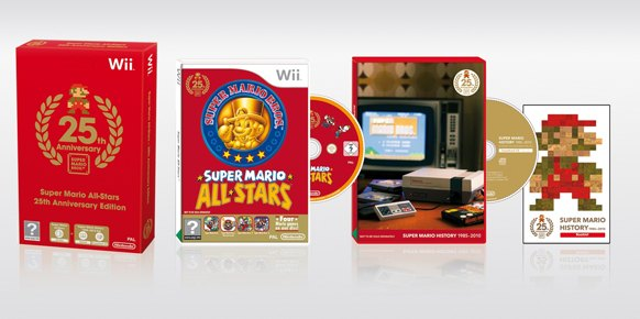 super mario all stars 25th anniversary