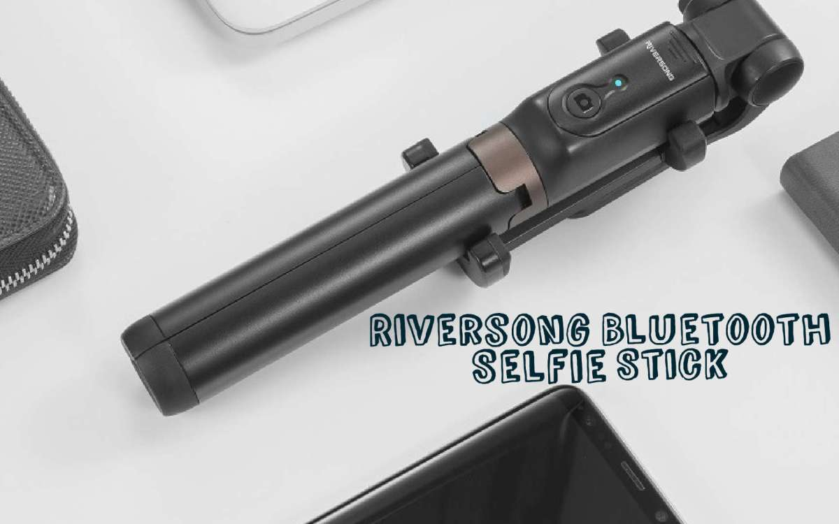 Riversong Bluetooth Selfie Stick Tripod with Remote Shutter