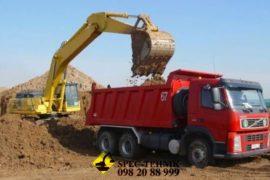услуги по вывозу грунта