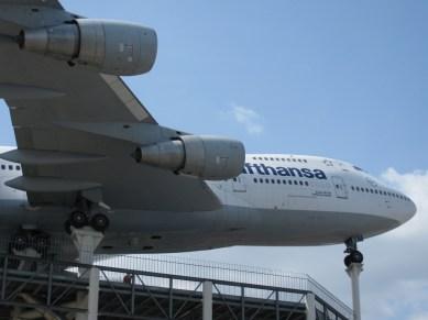 Speyer Museum, Boeing 747 vid entrén