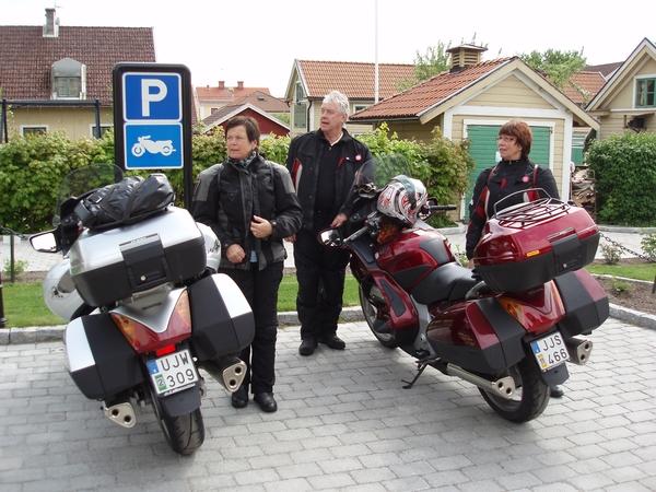 Vid Söderköping på väg söderut.