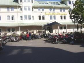 Hotell Fregatten i Varberg, det var här vi skulle bo