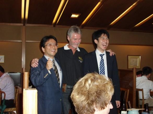 Rolf presenterade två representanter från Honda Motor Co. Ltd i Tokyo.